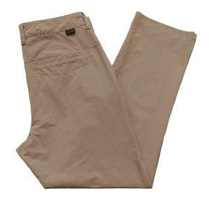 The NORTH FACE Rockaway Tan Nylon Pants 32 x 27